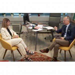 Interview: Majlinda Bregu, Secretary General of the RCC to A2 CNN channel