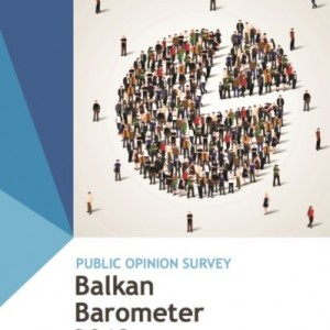 BALKAN BAROMETER 2018: PUBLIC OPINION SURVEY COVER