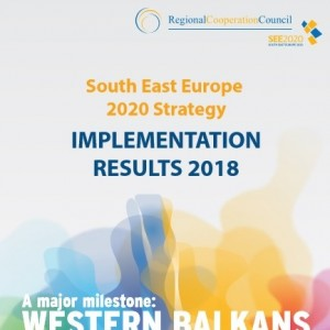 Brochure: South East Europe 2020 (SEE 2020) Strategy -  2018 IMPLEMENTATION RESULTS cover page