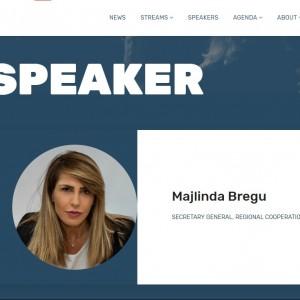 Full speech by the RCC Secretary General Majlinda Bregu at the GLOBSEC 2019 Forum