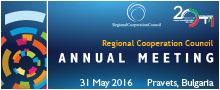 Annual Meeting 2016 of the Regional Cooperation Council