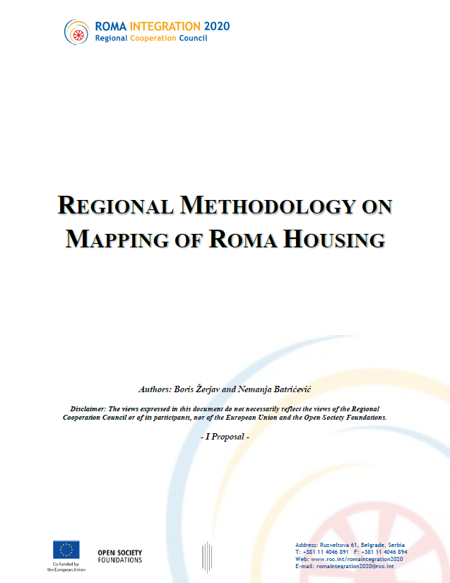 Regional Methodology on Mapping of Roma Housing