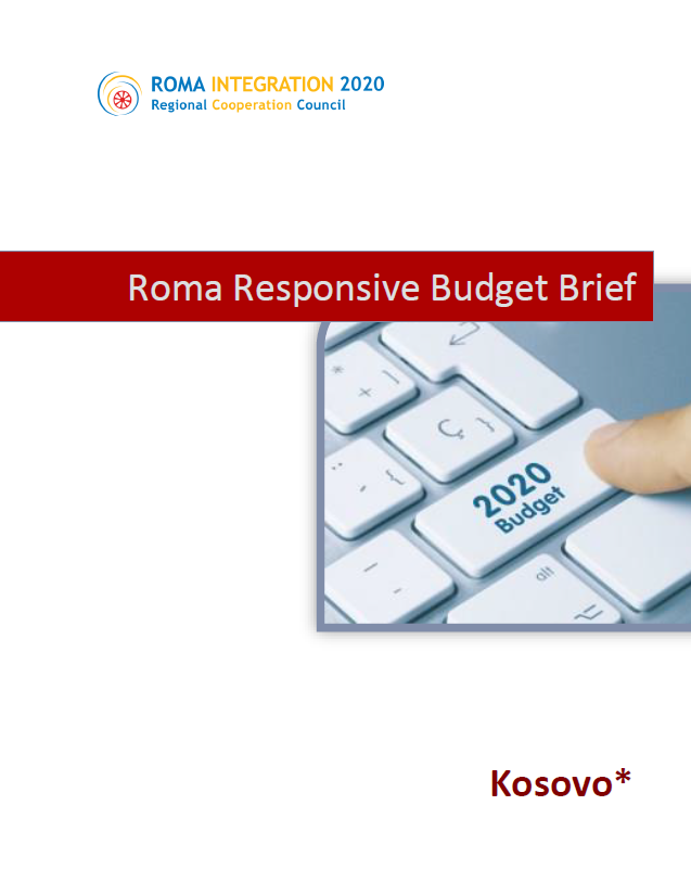 Policy Brief Roma Responsive Budgeting Kosovo* 2019