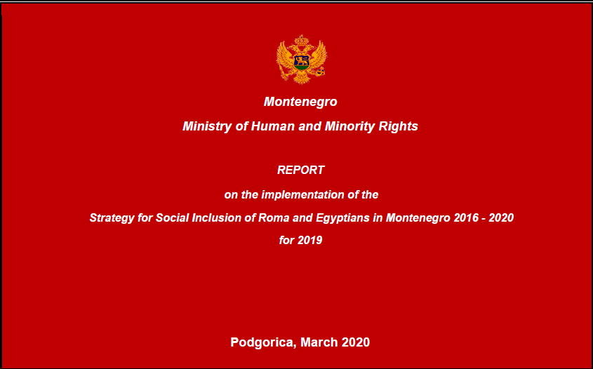Montenegro Annual Report for 2019