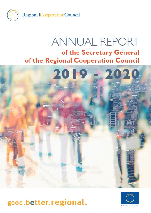 Annual Report of the Secretary General of the Regional Cooperation Council 2019-2020