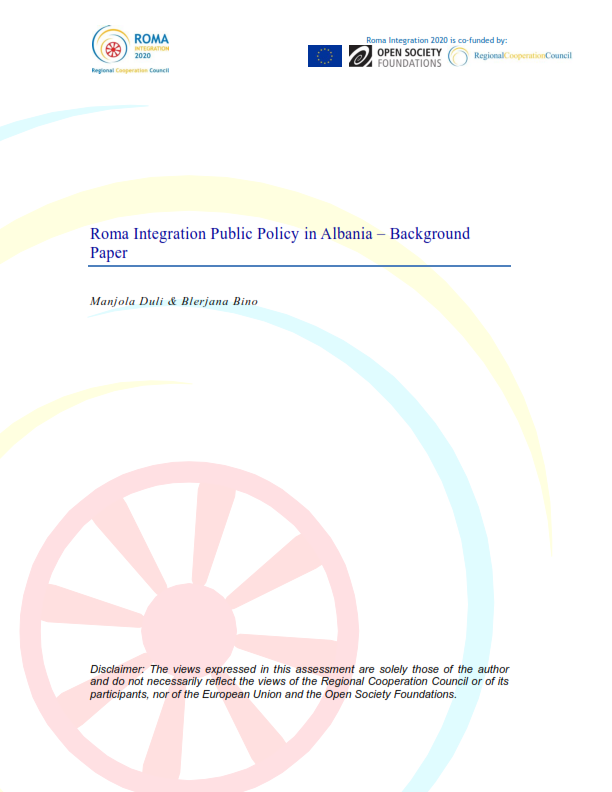 Roma Integration Public Policy in Albania - Background Paper