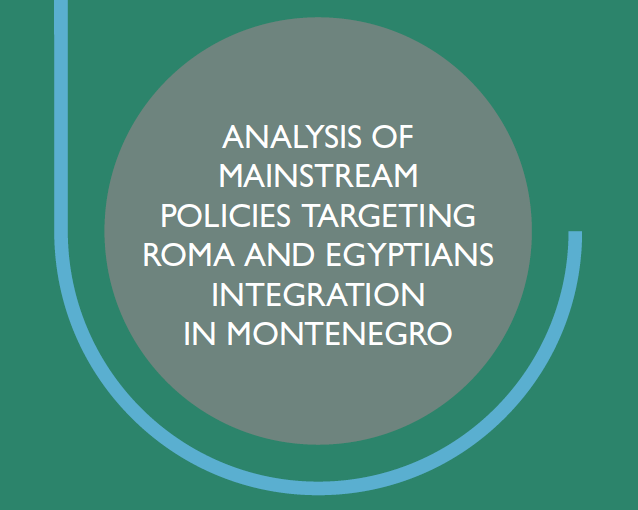 Analysis of mainstream policies targeting Roma and Egyptian integration in Montenegro