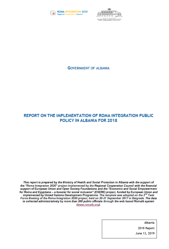 Albania Annual Report for 2018
