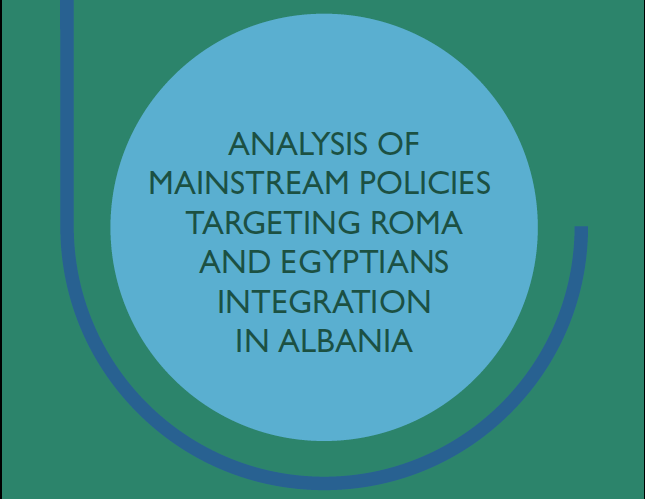 Analysis of mainstream policies targeting Roma and Egyptians integration in Albania