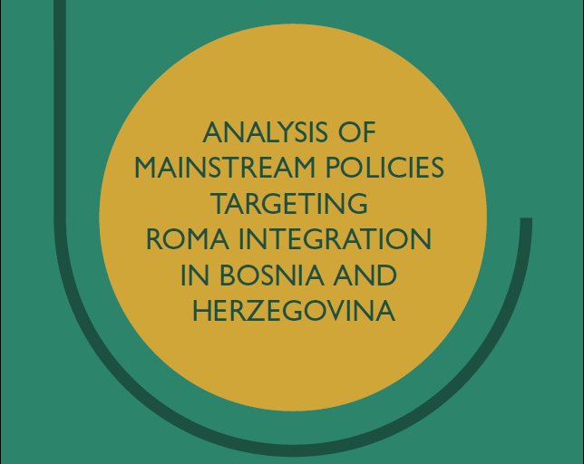Analysis of mainstream policies targeting Roma integration in Bosnia and Herzegovina