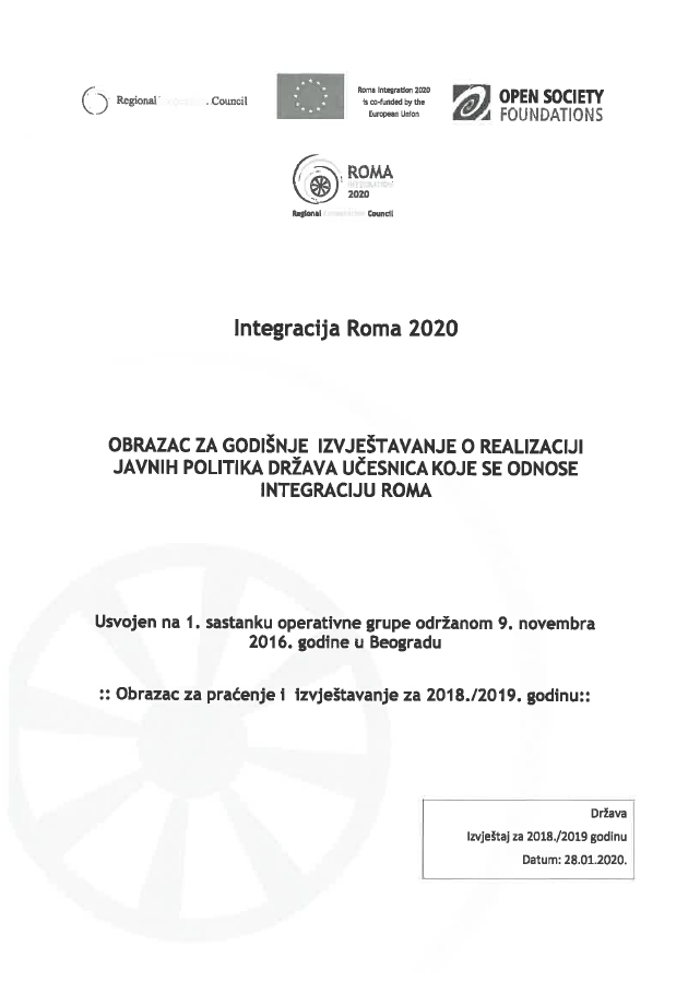 Bosnia and Herzegovina Annual Report for 2018 and 2019
