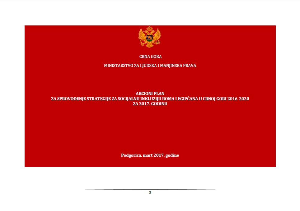 Action Plan 2017 Montenegro
