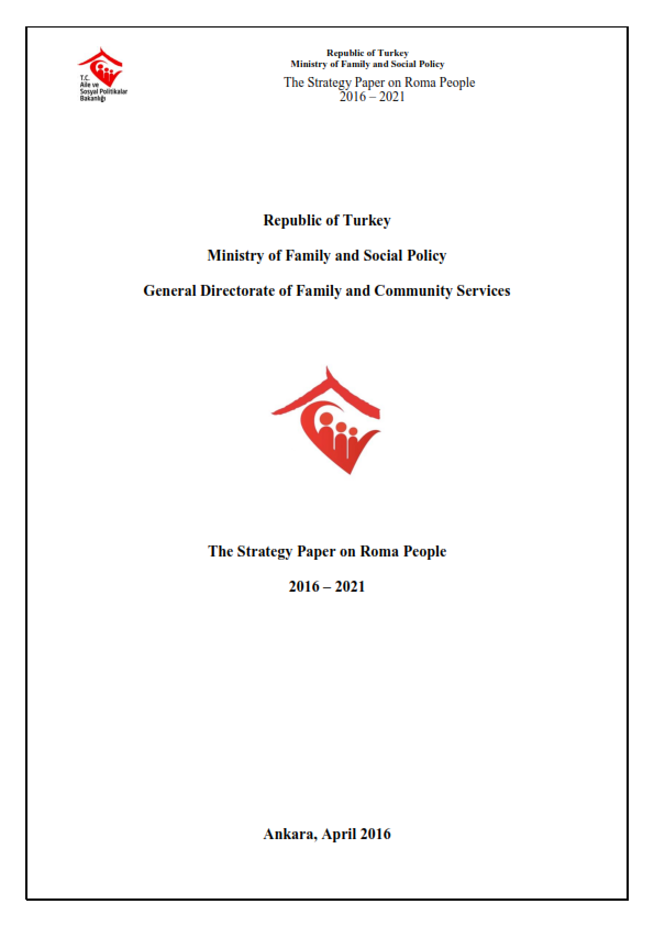 The Strategy Paper on Roma People