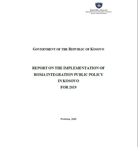Kosovo* Annual Report for 2019