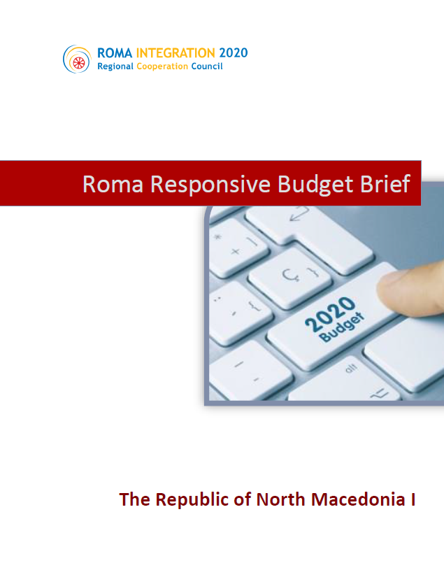 Policy Brief Roma Responsive Budgeting, The Republic of North Macedonia 2019