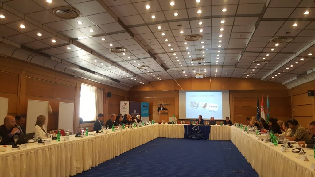 """International expert seminar """"Transition from Education to Employment for Roma Youth – a Key step in Roma Inclusion"""" in Brijuni Island, on 25 and 26 September 2018 (Photo: RCC/Orhan Usein)"""