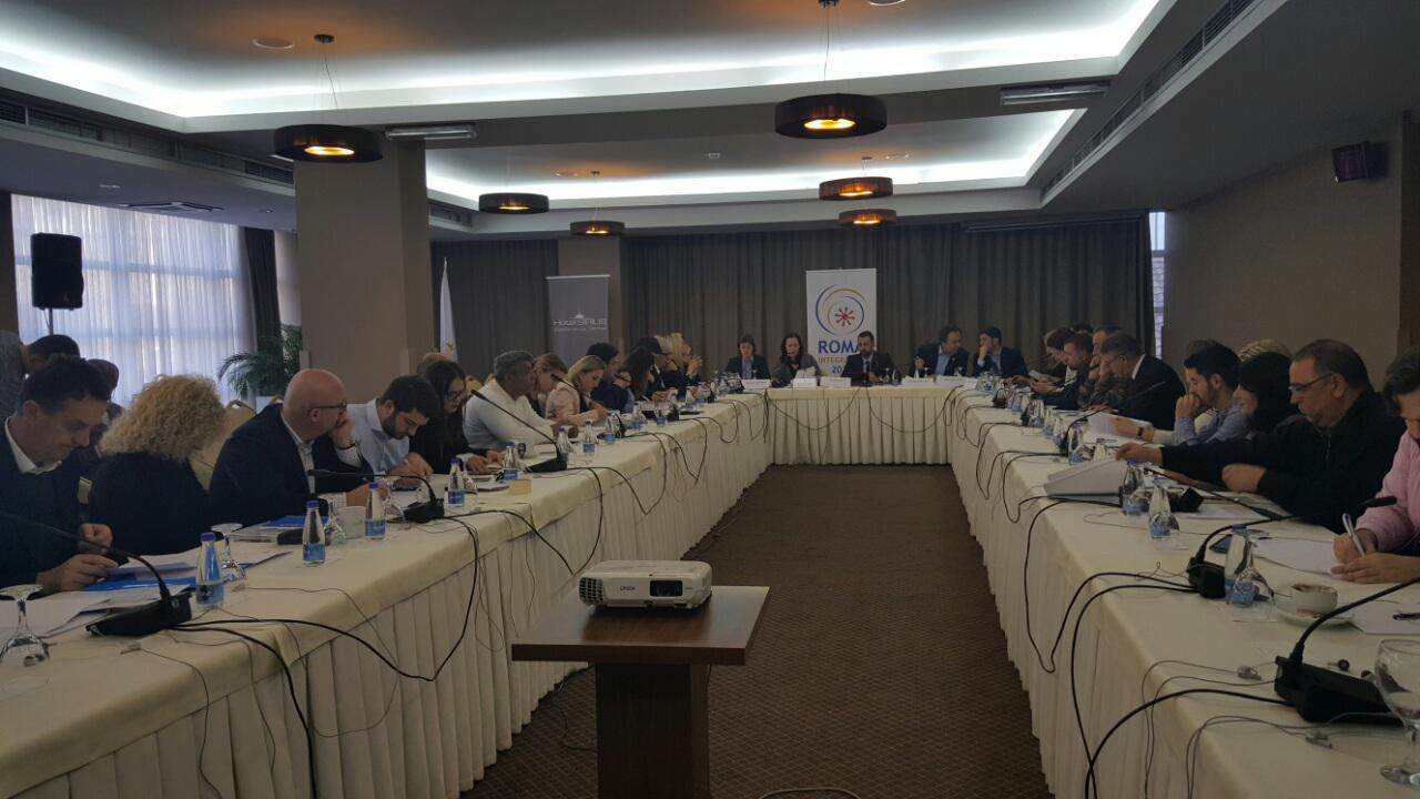 Public Dialogue Forum discussing implementation of the Draft Strategy and Action Plan for the inclusion of Roma, Ashkali and Egyptian communities in Pristina, 21 November 2016 (Photo: RCC/Rada Krstanovic)