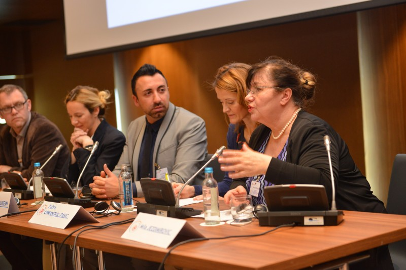 Regional workshop on budgeting for Roma integration policies, on 20-21 March 2017. (Photo: RI2020/Miross)