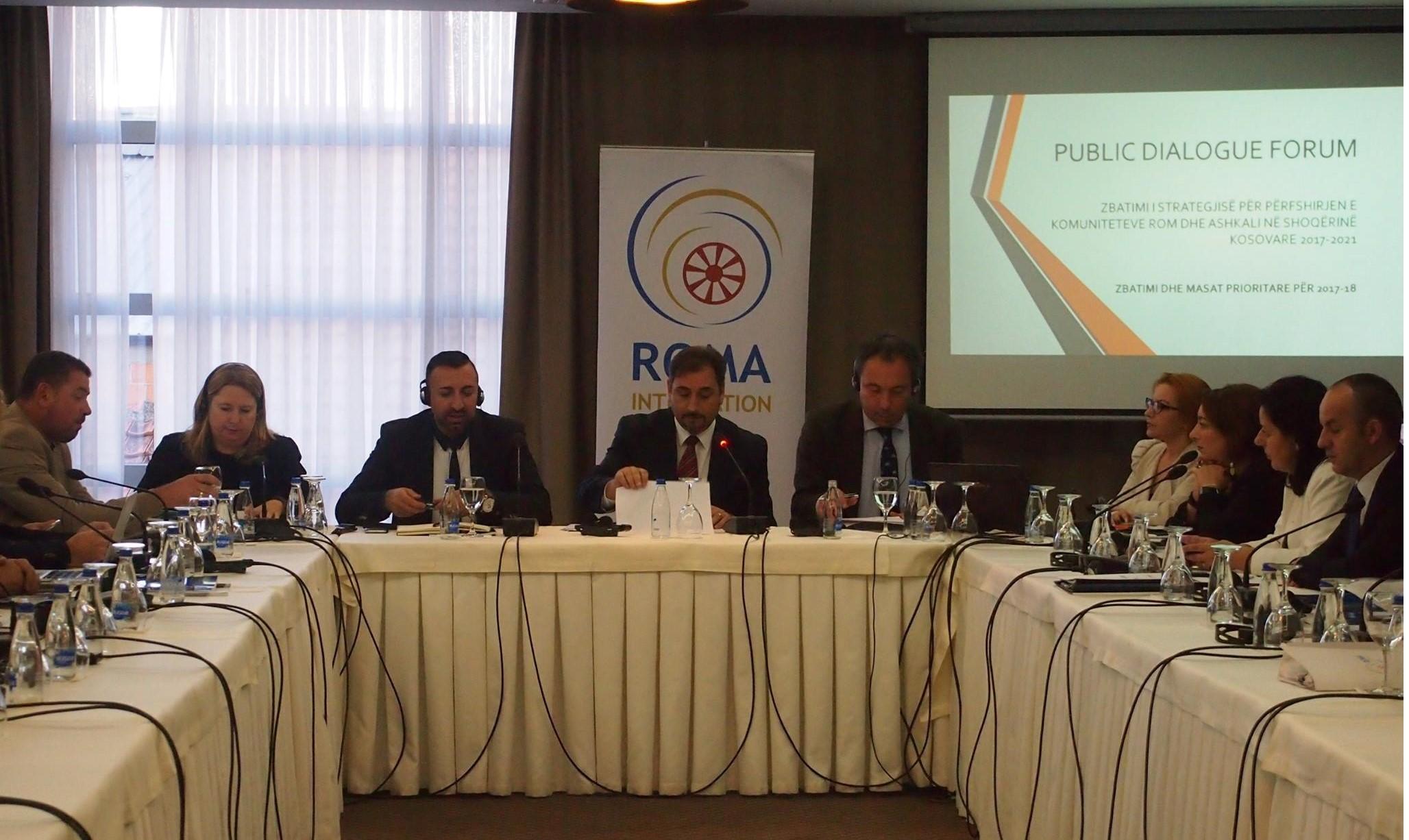 Roma Integration 2020, Public Dialogue Forum, Prishtina, 17 October 2017 (Photo: RI2020/Rada Krstanovic)