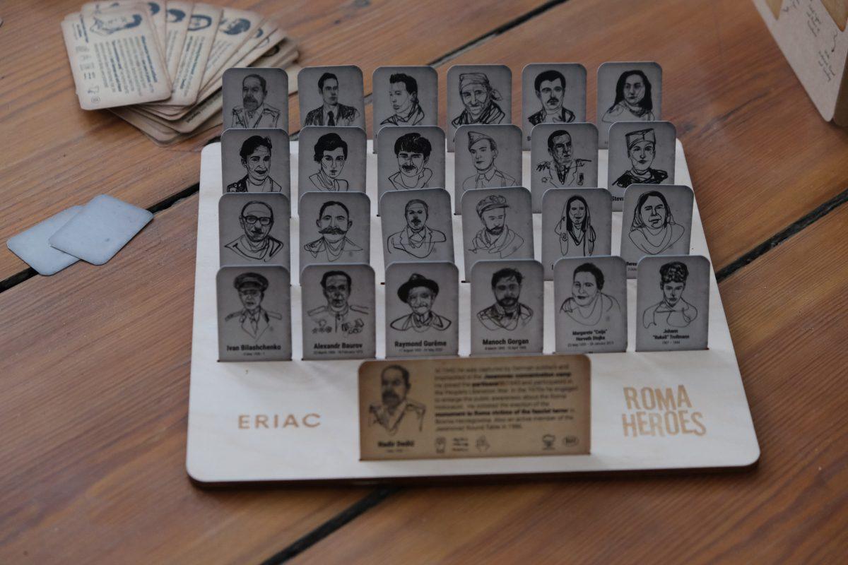 Roma Heroes board game (Photo: ERIAC)