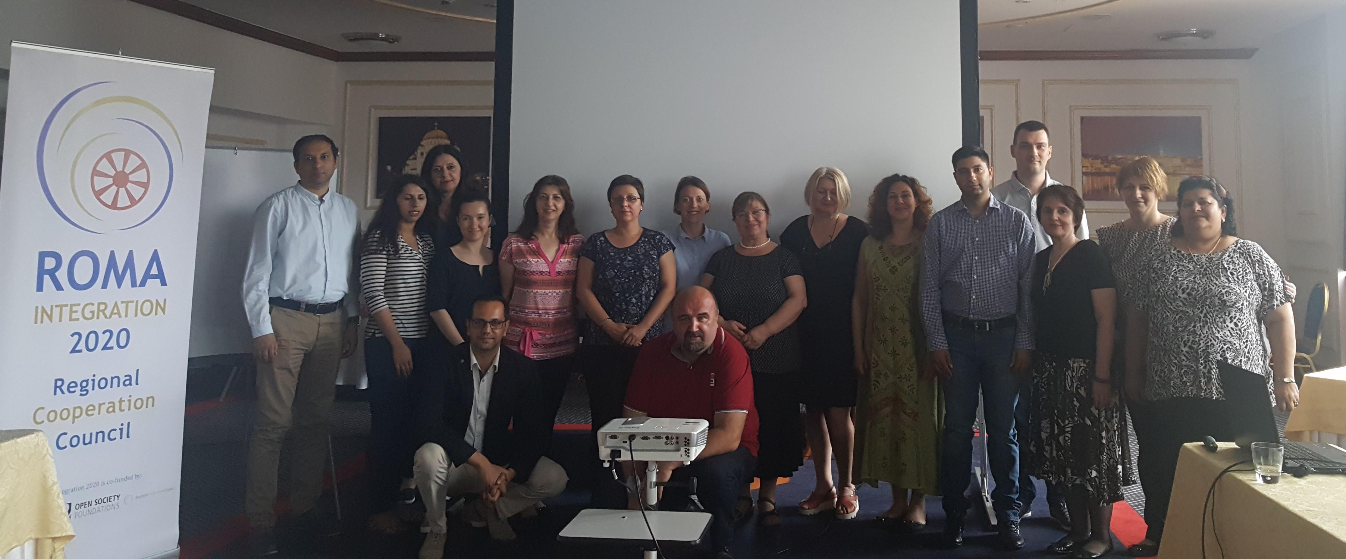 Training, Aradjelovac, 6-7 June, 2017