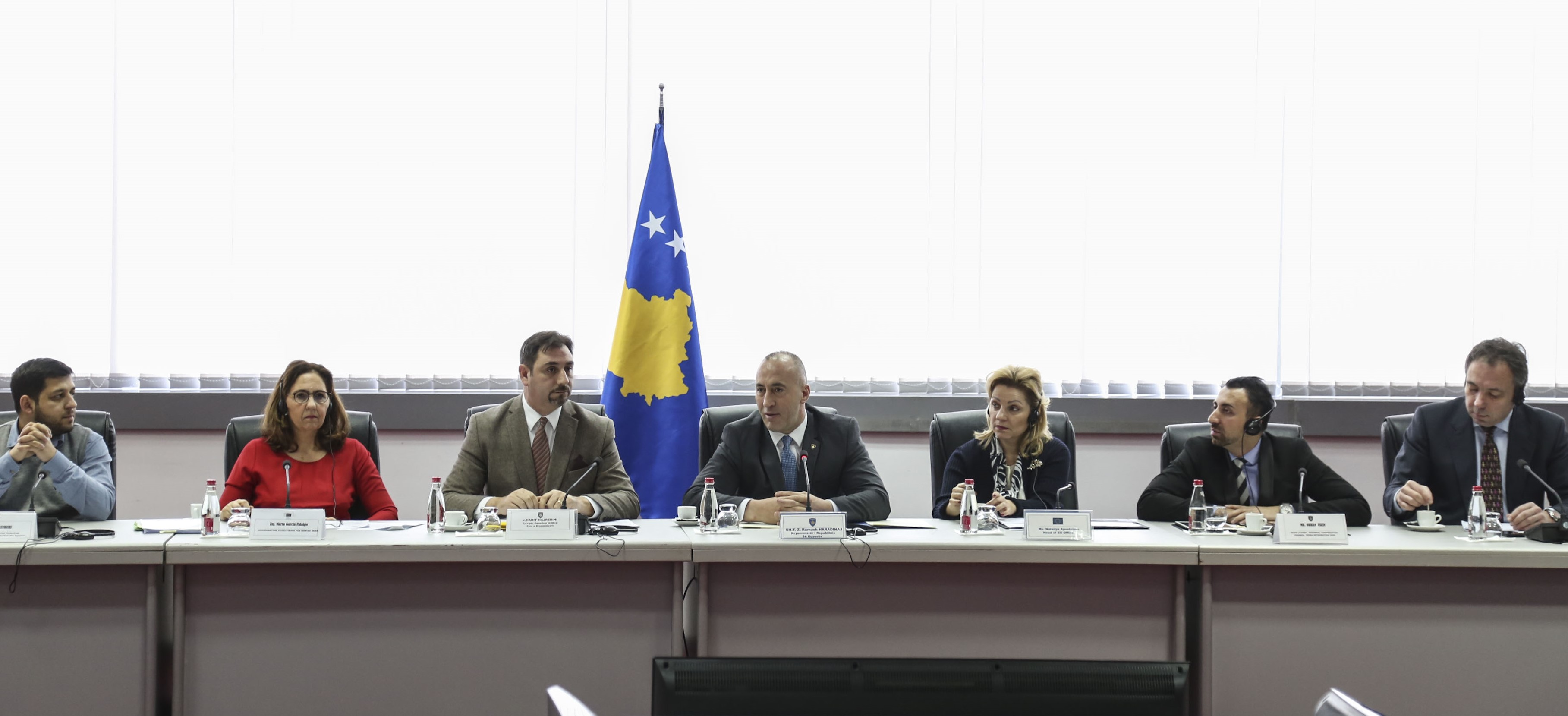 Regional Cooperation Council's Roma Integration 2020 Action Team Leader, Orhan Usein at the Roma Inclusion Seminar in Prishtina (Photo: Office of the Prime Minister of Kosovo*)