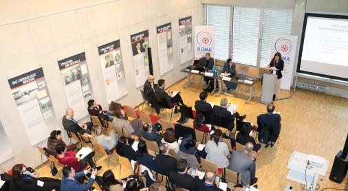 Berlin hosts a two-day workshop addressing discrimination and anti-Gypsyism in the enlargement region, organized under the auspices of the Regional Cooperation Council's (RCC) Roma Integration 2020 (RI2020) project, on 13-14 February 2018. (Photo: RCC/Ave Media)