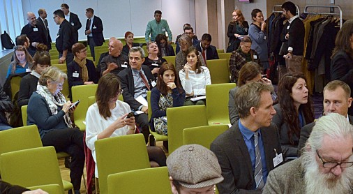 """RCC participation at at the event """"Wich steps towards European policies against anti-Gypsyism"""" (Photo: Louise Schmidt for the Open Society Foundations)"""