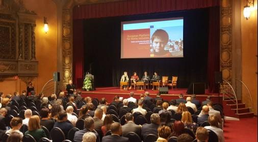 European Platform on Roma Inclusion, in Brussels on 9 October 2018 (Photo: RCC/Rada Krstanovic)