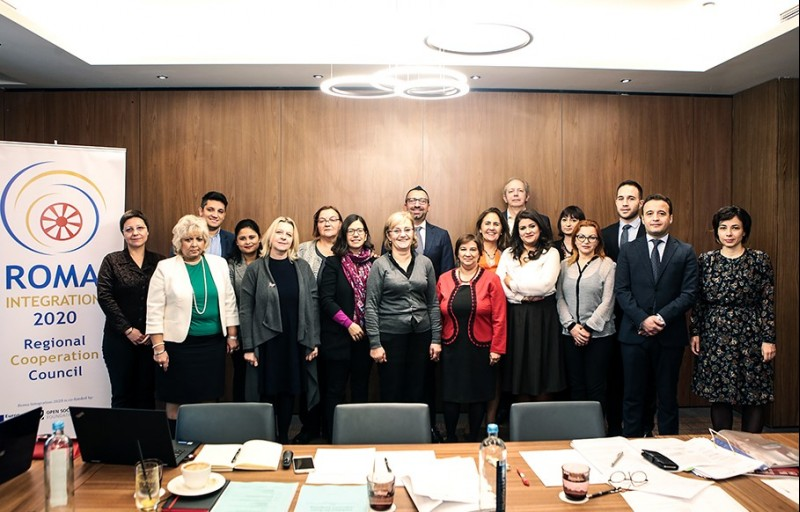 Task Force meeting of the RCC's Roma Integration 2020 in Skopje, on 04 December 2018