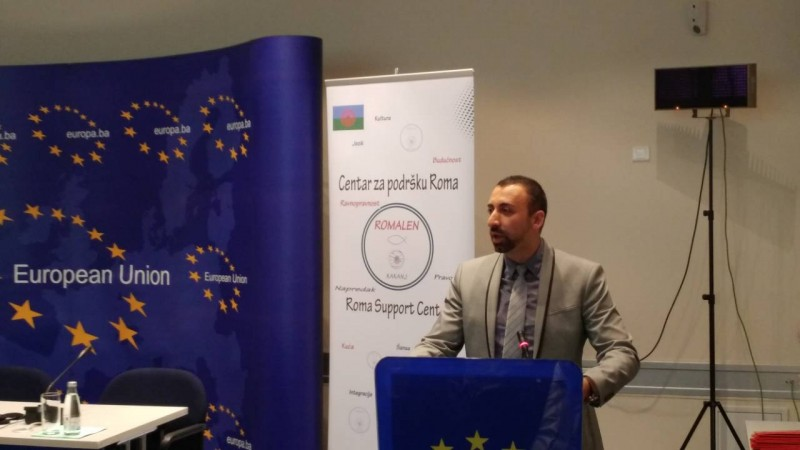 """Kick off event of the ROMACTED Programme """"Promoting good governance and Roma empowerment at local level"""" in Sarajevo (Photo: RCC/Gordana Demšer)"""