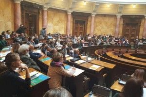 Public dialogue forum on Roma Integration kick off with public hearing at Serbian National Assembly
