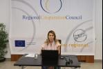 Majlinda Bregu, Secretary General of the RCC at the Second Ministerial Meeting on Roma Integration (Photo: Armin Durgut)