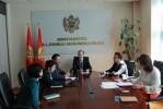 First consultative meeting within Roma Integration 2020 project in Montenegro (Photo: http://www.gov.me/naslovna/vijesti-iz-ministarstava/161204/Ministar-Numanovic-razgovarao-ssa-predstavnicima-ama-Inicijative-Integracije-Roma-2020.html)