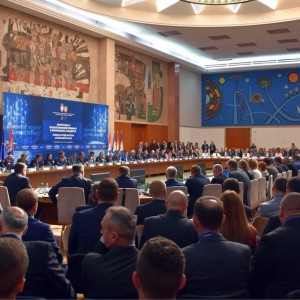 #RCC's Head of Political Department Amer Kapetanovic (@amer_kap) taking part in #Interior and #Security ministers' Conference on High+Tech Crime & Information Security 'Connect Securely!' in Belgrade 20-21 September 2018 - cooperation in information security and combating high-tech crime. Photo Cerdit: TW prifile @NesaStefanovic