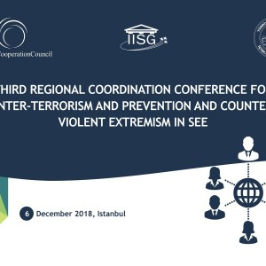 Coming up: Conference on cybersecurity, online radicalization; regional approach to prevention/countering violent extremism in #SEE; sustainable solution to preventing illegal possession, misuse & trafficking of #SALW by @rccint, Govt. & Ministry of Interior of #Turkey @WBIISG