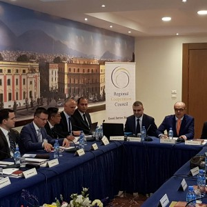 10th South East Europe Military Intelligence Chiefs' Expert Working Group meeting #SEEMIC in Tirana, 29. may 2018. - talking about #OSINT Assessment 'Challenges to critical infrastructure cybersecurity in #SEE' Photo: @rccint