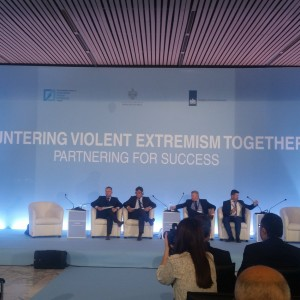 Going Together and in Partnership on Countering Violent Extremism – Western Balkans CVE Regional Meeting takes place today in #Tirana. Happy to chair one of panels aimed at fostering partnership and cooperation in #WB . EUs Regional Cooperative Order remains priority: Whole society approach in combating violent extremism is the only right course. Lack of social cohesion, corruption, lack of social inclusion leads to extremism. #WB should start implementing all beautifully written strategies, as panel concluded. @rccint is there to help! Photo: RT @amer_kap