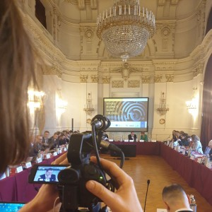 Photo: @rccint - Good morning from #Trieste we are ON regional approach to security challenges in #SouthEastEurope #fakenews #youthradicalisation #SALW #massmigration w/ @UNDP_SEESAC @WBIISG @RACVIAC @ITAMinistryofIn  @italyinbih