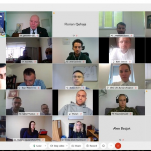 Photo:  On-line event on Deradicalization and Resocialization of FTFs (Photo Credit: RACVIAC)