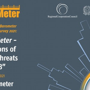 RCC to present Western Balkans SecuriMeter - the first-ever regional Public Opinion Survey on Security #SecuriMeter