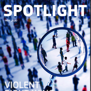 Spotlight -  publication on the topic of violent right-wing extremism