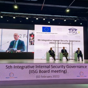 Photo: RT: @amer_kap - Ministers of Interior of WB6 have fully endorsed the joint course of action of @rccint & @WBIISG  in helping  WB coping with security challenges. Commitment to help came also from different organizations. So the 5th meeting of the IISG board went very well.#RegionalOwnership for #EU.