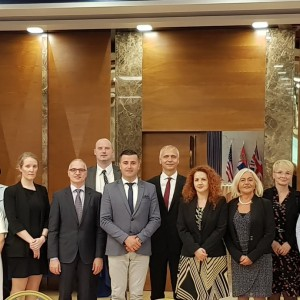 Family photo from Regional workshop on law #enforcement #judicial services and state #attorneys #prosecutors in dealing with #terrorism and violent #extremism & connected crimes in Tirana. 30. May 2018.