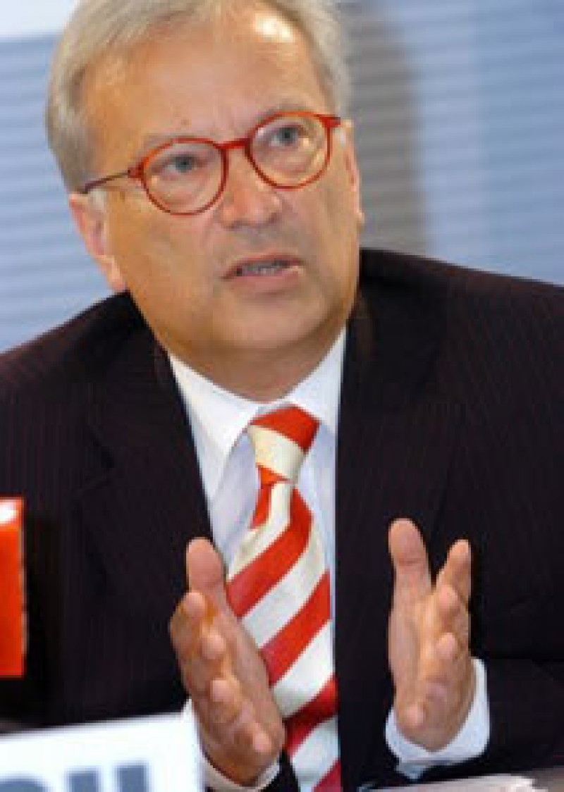 Hannes Swoboda, Member of the European Parliament (Photo: courtesy of Mr. Swoboda)