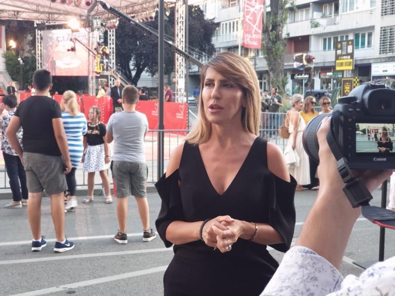 Secretary General of the RCC Majlinda Bregu at the 25th Sarajevo Film Festival, August 2019 (Photo: RCC/Selma Ahatovic-Lihic)