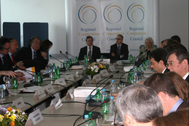 The RCC Board meets three times a year and is chaired by the Secretary General. (Photo: RCC/Selma Ahatovic-Lihic)