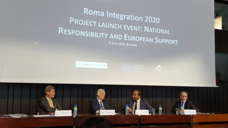 Roma Integration 2020 Launch Event on 9 June 2016 in Brussels (Photo: RCC/Nenad Sebek)