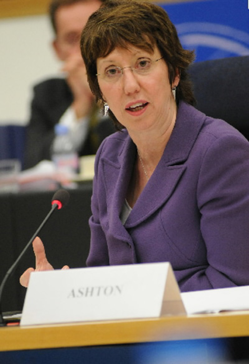 Catherine Ashton, High Representative of the European Union for Foreign Affairs and Security Policy/ Vice President of the European Commission (Photo:http://ec.europa.eu/avservices)