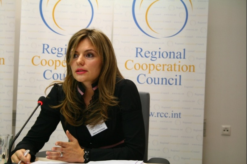 Amna Redzepagic, Expert on Infrastructure, RCC Secretariat (Photo: RCC/Dado Ruvic)